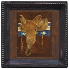 <strong>Thirstystone</strong> Western Saddle II Ambiance Coaster Set (Set of 4)