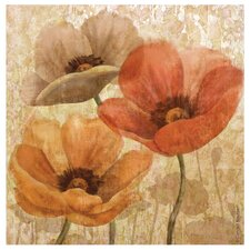 Poppy Allure II Occasions Coasters Set (Set of 4)