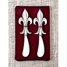 <strong>Thirstystone</strong> Fleur de Lis Spreader (Set of 2)