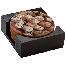 <strong>Thirstystone</strong> 7 Piece Corks Coaster Gift Set