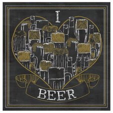 I Love Beer Occasions Coaster Set (Set of 4)
