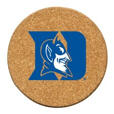 Duke University Cork Collegiate Coaster Set (Set of 6)