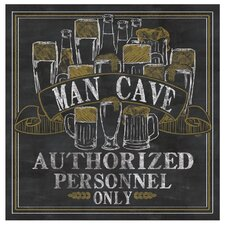 Man Cave Occasions Coaster Set (Set of 4)