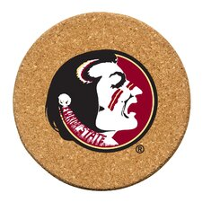 Florida State University Cork Collegiate Coaster Set (Set of 6)