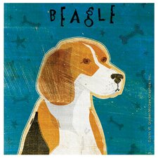 Beagle Occasions Coasters Set (Set of 4)