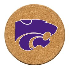 Kansas State University Cork Collegiate Coaster Set (Set of 6)