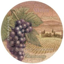 Wine Country Coaster (Set of 4)