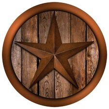 Western Star on Barnwood Occasions Coaster (Set of 4)