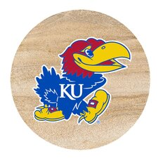 University of Kansas Collegiate Coaster (Set of 4)