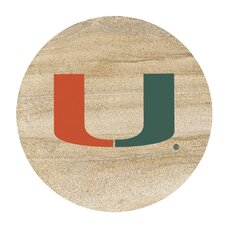 University of Miami Collegiate Coaster (Set of 4)