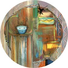 Southwest Collage Occasions Coaster (Set of 4)