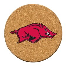 University of Arkansas Cork Collegiate Coaster Set (Set of 6)