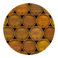 Wine Barrels Coaster (Set of 4)