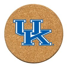 University of Kentucky Cork Collegiate Coaster Set (Set of 6)