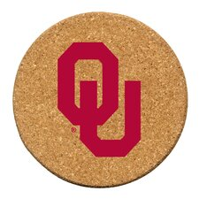 University of Oklahoma Cork Collegiate Coaster Set (Set of 6)
