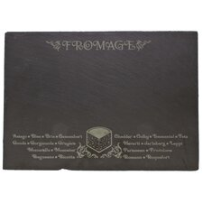 Etched Fromage Slate Menu Board