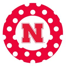 University of Nebraska Dots Collegiate Coaster (Set of 4)