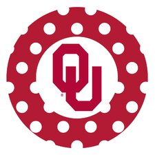 University of Oklahoma Dots Collegiate Coaster (Set of 4)