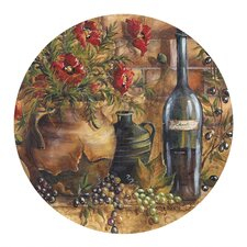 <strong>Thirstystone</strong> Wine & Poppies Coaster (Set of 4)