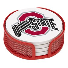 <strong>Thirstystone</strong> 5 Piece Ohio State University Collegiate Coaster Gift Set