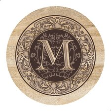 Monogram A Coaster (Set of 4)