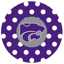 Kansas State University Dots Collegiate Coaster (Set of 4)
