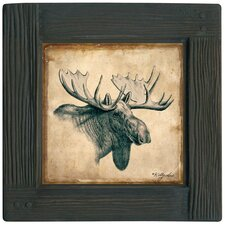 <strong>Thirstystone</strong> Lodge Moose Ambiance Coaster Set (Set of 4)