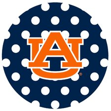 Auburn University Dots Collegiate Coaster (Set of 4)