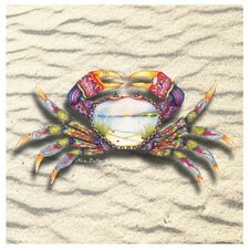 <strong>Thirstystone</strong> Tapestry Crab Occasions Coasters Set (Set of 4)