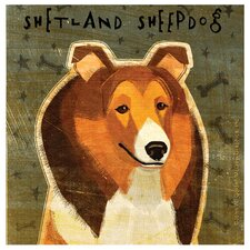Shetland Sheepdog Occasions Coasters Set (Set of 4)