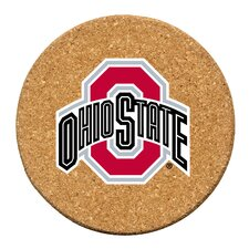 Ohio State University Cork Collegiate Coaster Set (Set of 6)