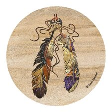 Feathers Coaster (Set of 4)