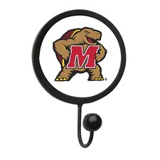 University of Maryland Round Wall Hook