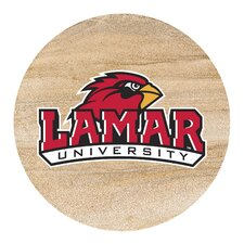Lamar University Collegiate Coaster (Set of 4)