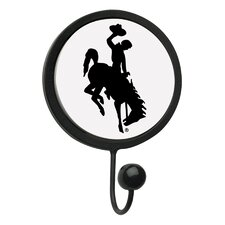University of Wyoming Round Wall Hook
