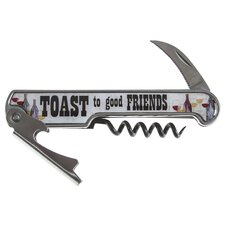 Toast to Good Friends Wine Tool