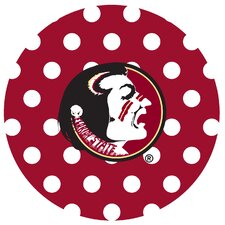 Florida State University Dots Collegiate Coaster (Set of 4)
