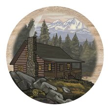 Mountain Cabin Coaster (Set of 4)