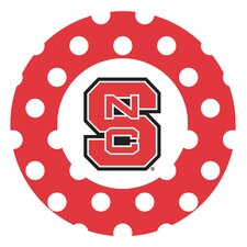 North Carolina State University Dots Collegiate Coaster (Set of 4)