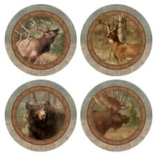 Wildlife 4 Piece Quartet Coaster Set