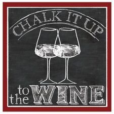 Chalk It Up To The Wine Occasions Coaster Set (Set of 4)