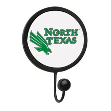 University of North Texas Round Wall Hook