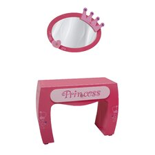 Princess Vanity with Mirror