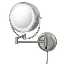 NeoModern LED Lighted Plug-in Wall Mirror
