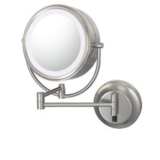 NeoModern LED Lighted Hardwire Wall Mirror