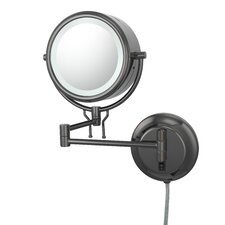 Kimball & Young Contemporary Fluorescent Lit Plug-in Wall Mirror
