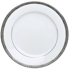 "Sentiments Platinum Filigree 10.5"" Dinner Plate"