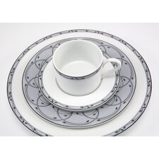 Perennial Gray 5 Piece Place Setting