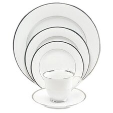 Sentiments Platinum Band 5 Piece Place Setting