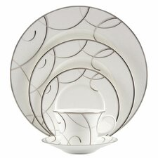 Elegant Swirl 5 Piece Place Setting